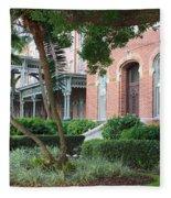 Elegant Retreat In Tampa Fleece Blanket