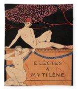 Elegies A Mytilene Fleece Blanket