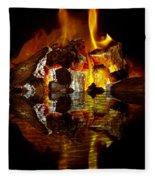 Element Reflections Fleece Blanket