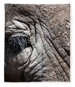 Elephant Eye Fleece Blanket