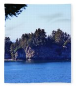 Elephant Island Kachemak Bay Fleece Blanket