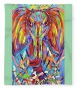 Elephant Love Fleece Blanket