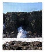 Elephant Rock Fleece Blanket