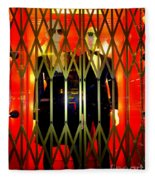 Elevator Elegance Fleece Blanket