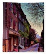 Elfreth's Alley Fleece Blanket