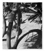 Elgin Bicycle Shadow Fleece Blanket