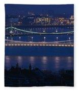 Elizabeth And Liberty Bridges Budapest Fleece Blanket