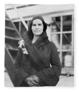 Elizabeth Hughes Gossett Fleece Blanket