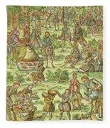 Elizabeth I, 1533-1603 Fleece Blanket