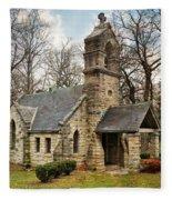 Elkhart Illinois Chapel Fleece Blanket