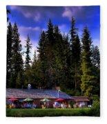 Elkins Resort II Fleece Blanket