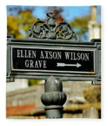 Ellen Axson Wilson Fleece Blanket
