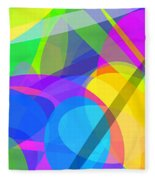 Ellipses 10 Fleece Blanket