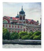 Ellis Island Fleece Blanket