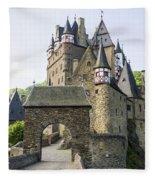 Eltz Castle Fleece Blanket