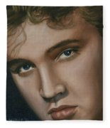Elvis 24 1955 Fleece Blanket