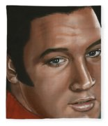 Elvis 24 1968 Fleece Blanket