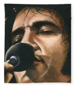 Elvis 24 1972 Fleece Blanket