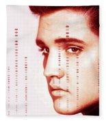 Elvis Preslely Fleece Blanket