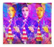 Elvis Presley Jail House Rock 20160520 Horizontal Fleece Blanket