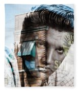 Elvis Presley Sun Studio Collection Fleece Blanket