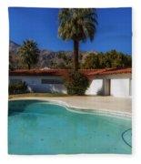 Elvis Presley's Palm Springs Home Fleece Blanket