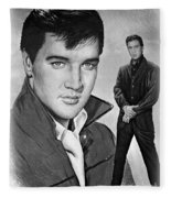 Elvis Roustabout Fleece Blanket