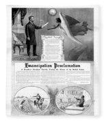Emancipation Proclamation Fleece Blanket