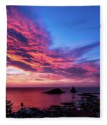 Ember Sunrise Fleece Blanket