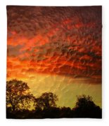 Embossed Sunrise Fleece Blanket