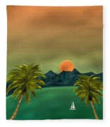 Emerald Bay Fleece Blanket