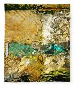 Emerald Bow Fleece Blanket