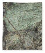 Emerald Green Fleece Blanket
