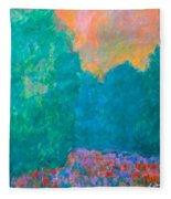 Emerald Mist Fleece Blanket