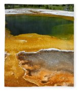 Emerald Pool 2 Fleece Blanket