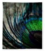 Emerald Shadows Fleece Blanket