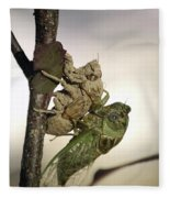 Emerging - Cicada 2 Fleece Blanket