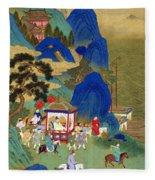 Emperor Chin Wang Ti Fleece Blanket