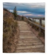 Empire Bluffs 3 Fleece Blanket