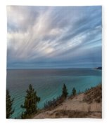 Empire Bluffs 5 Fleece Blanket