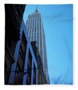 Empire State 1 Fleece Blanket