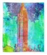 Empire State Fleece Blanket