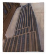 Empire State Building 1 Fleece Blanket