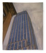 Empire State Building 2 Fleece Blanket