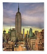Empire State Of Mind Fleece Blanket
