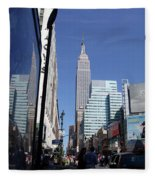 Empire State Of Mind In The Late Springtime Fleece Blanket