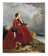 Empress Eugenie Fleece Blanket