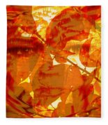 Empress Of The Sun Fleece Blanket