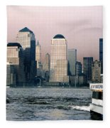 Empty Sky Fleece Blanket