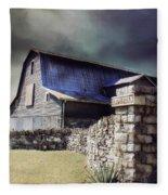 Empyrean Estate Stone Wall Fleece Blanket